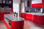 Цвет кухонного фасада определяет погоду в доме